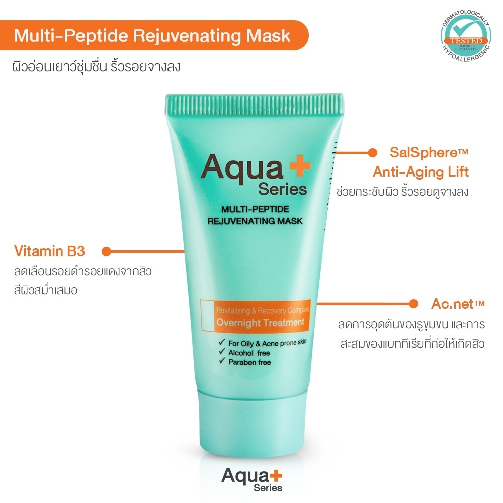 Multi-Peptide Rejuvenating Mask – 30g
