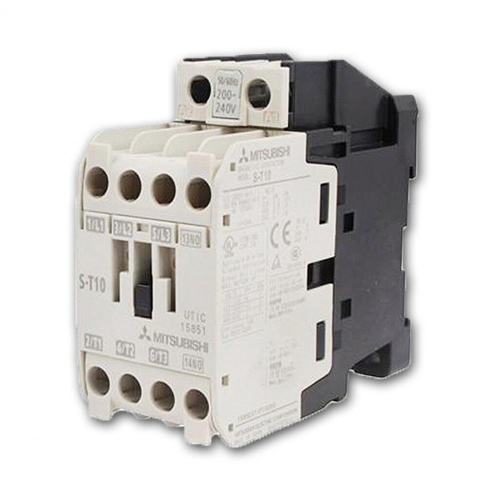 MITSUBISHI แมกเนติก คอนแทกเตอร์ ST-10 Magnetic Contactor 220V 50-60Hz |  Lazada.co.th